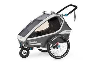 "Qeridoo Kindersportwagen ""Kidgoo2"", grau"