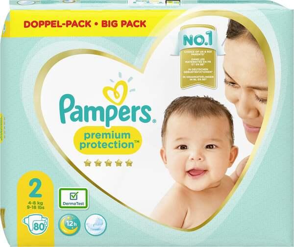 Pampers premium protection Windeln Gr. 2 (4-8 kg) Doppelpack