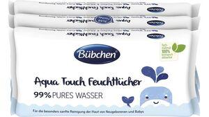 Bübchen Aqua Touch Feuchttücher, 3x48 Stk.