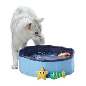 AniOne Katzenpool mit 3 Spielzeugen