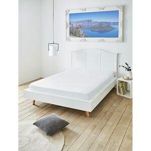 Spannbettuch Boxspringbett 100x200 cm weiß