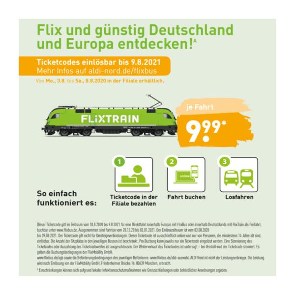 Gutschein Flixbus 2021