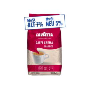 Lavazza Caffe Crema oder Espresso