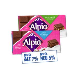 Alpia Tafelschokolade