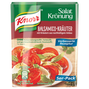 Knorr Salatkrönung Balsamico-Kräuter 5x11g, 55g