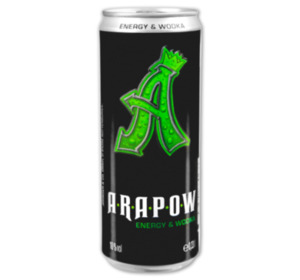 ARAPOW Energy und Wodka