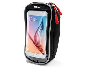 CRIVIT® Fahrrad-Handytasche, mit Halterung, Touchscreen-Bedienung, zusätzlicher Stauraum