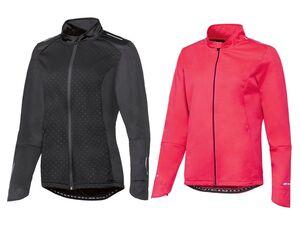 CRIVIT® Allwetterjacke Damen, Rückentasche mit Reißverschluss, aus Softshell-Material