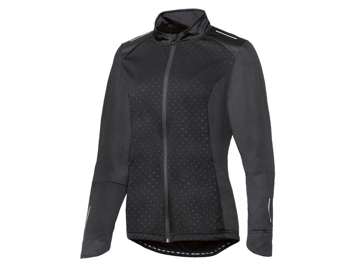 Bild 2 von CRIVIT® Allwetterjacke Damen, Rückentasche mit Reißverschluss, aus Softshell-Material