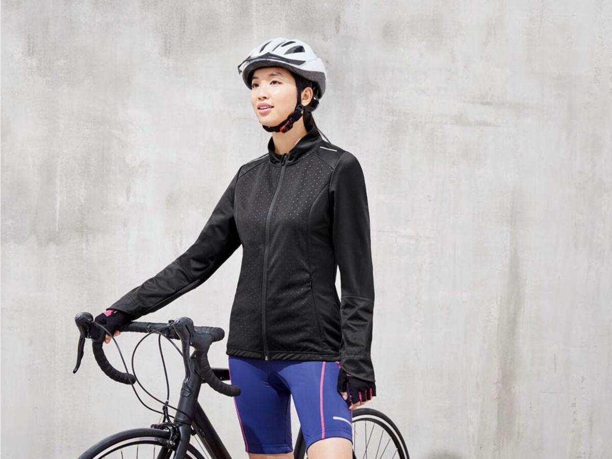 Bild 3 von CRIVIT® Allwetterjacke Damen, Rückentasche mit Reißverschluss, aus Softshell-Material