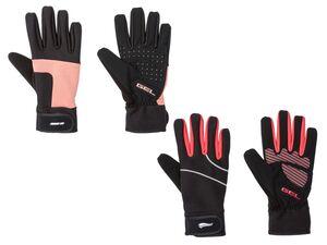 CRIVIT® Handschuhe Damen, mit Klettverschluss, reflektierende Details, mit Elasthan