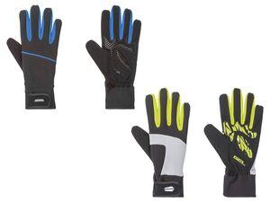 CRIVIT® Handschuhe Herren, mit Klettverschluss, reflektierende Details, mit Elasthan