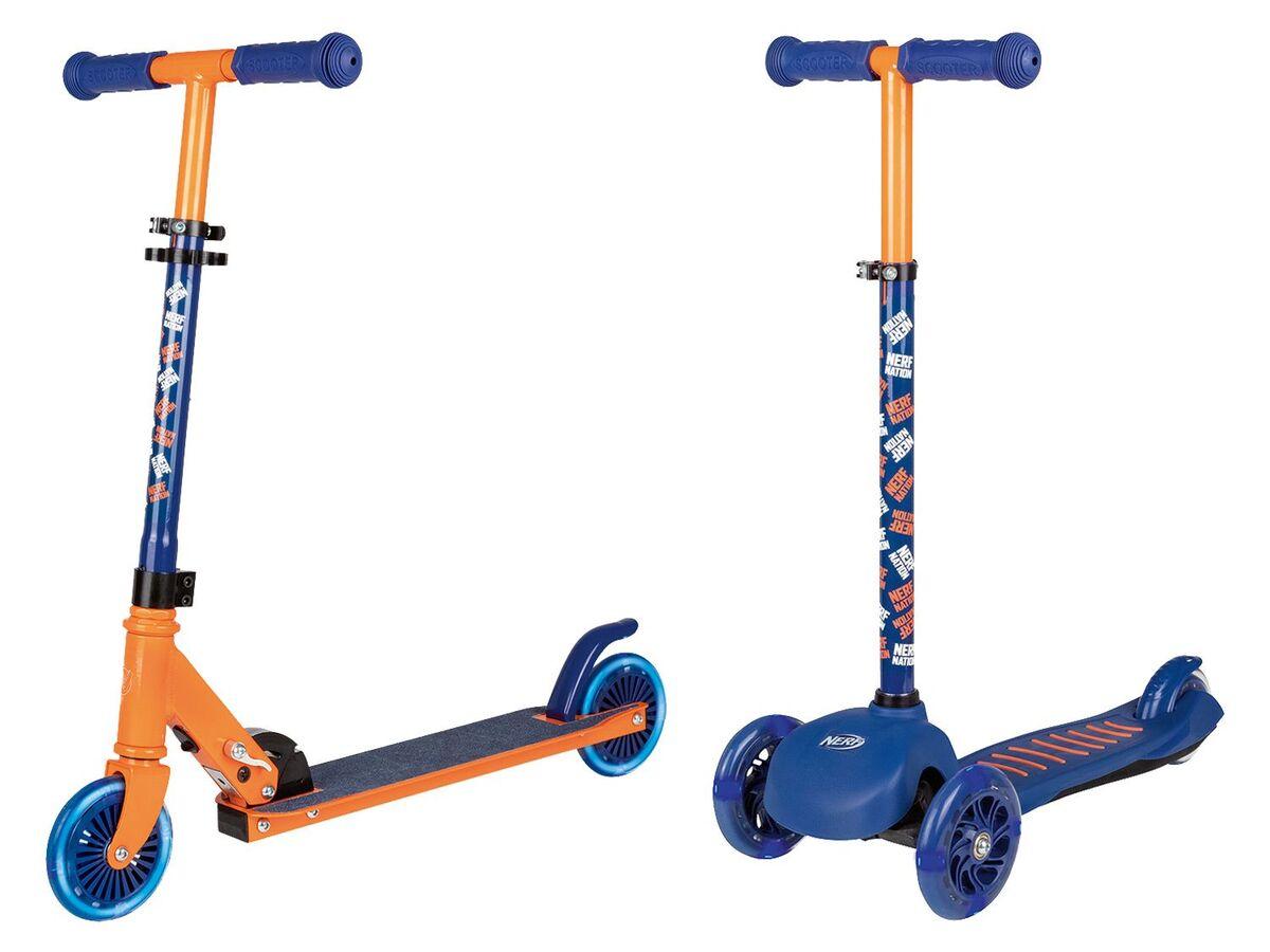 Bild 1 von Nerf Kinder Scooter, mit 2 Rädern oder 3 Rädern, ab 3 Jahren