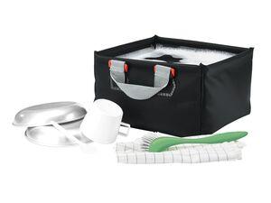 CRIVIT® Campingspüle,  für den Campingplatz, 10 l, mit verstärktem Rand, nahtverschweißt