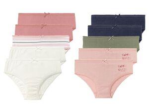 LUPILU® Kleinkinder Slip Mädchen, 5 Stück, aus reiner Baumwolle