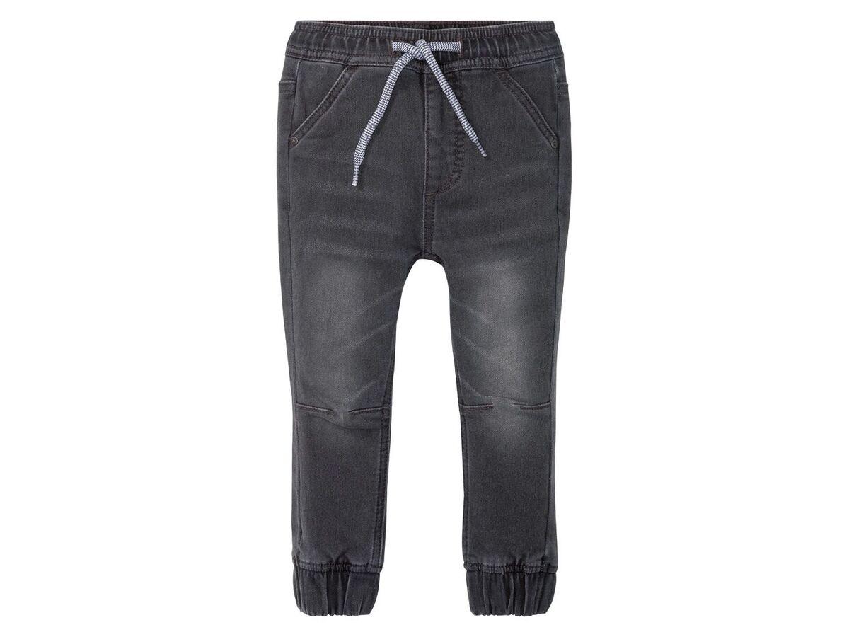 Bild 2 von LUPILU® Kleinkinder Sweathose Jungen, in Jeans-Optik, mit Gummizugbund, mit Baumwolle