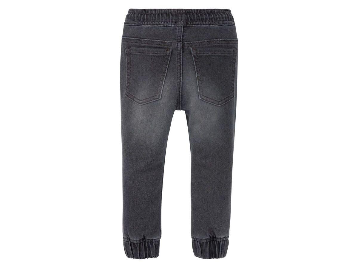 Bild 4 von LUPILU® Kleinkinder Sweathose Jungen, in Jeans-Optik, mit Gummizugbund, mit Baumwolle