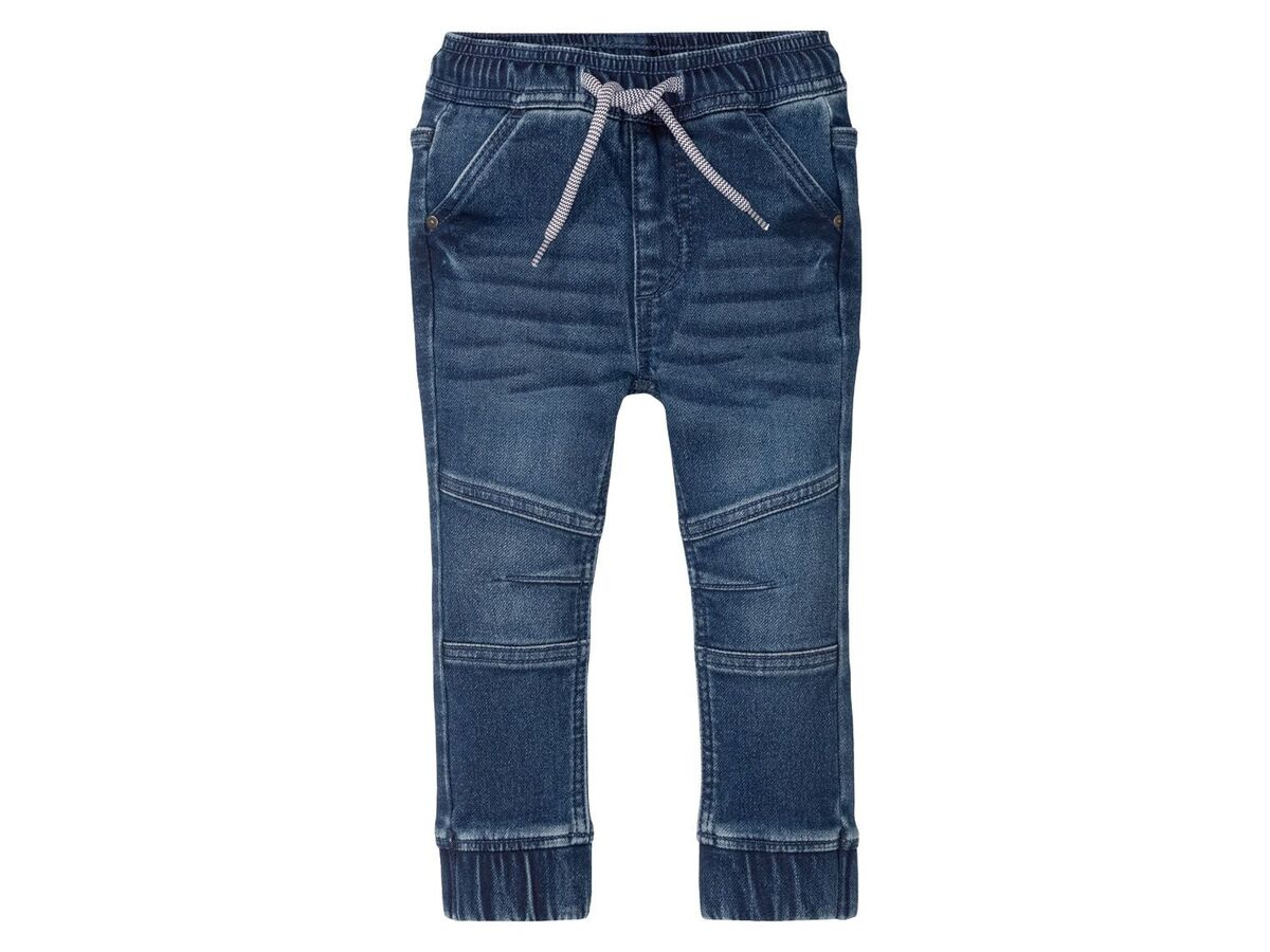 Bild 5 von LUPILU® Kleinkinder Sweathose Jungen, in Jeans-Optik, mit Gummizugbund, mit Baumwolle