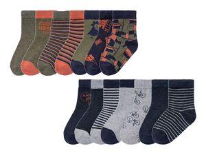 LUPILU® Kleinkinder Socken Jungen, 7 Paar, mit Baumwolle und Elasthan