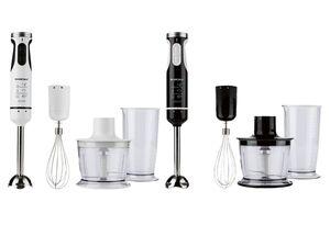 Silvercrest Kitchen Tools Stabmixer Set »SSMS 600«, 600 Watt, mit Edelstahl-Aufsätzen