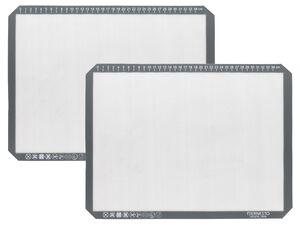 ERNESTO® Backmatte, 2 Stück, backofenfest, spülmaschinengeeignet, aus Silikon