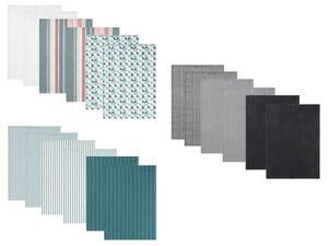 MERADISO® Geschirrtücher, 6 Stück, 50 x 70 cm, aus reiner Baumwolle