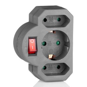 Powertec Electric Abschaltbarer Zwischenstecker