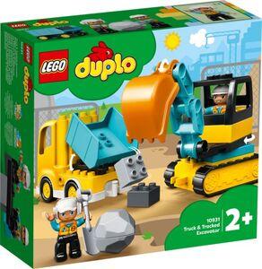 LEGO® DUPLO® Town 10931 - Bagger und Laster
