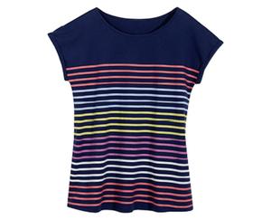 blue motion+ T-Shirt, große Mode