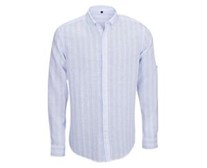 watson´s Langarm-Leinen-Hemd
