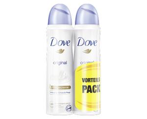 Dove Deo-Spray, Doppelpack