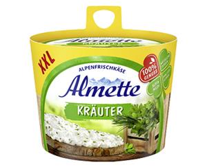Almette Alpenfrischkäse, XXL