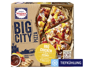 Original Wagner Big City Pizza
