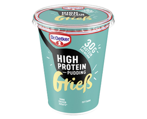 Dr. Oetker High Protein Grieß-/Pudding