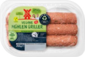 Rügenwalder Mühle Vegane-Mühlen-Burger, -Hack o. -Griller