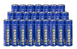 Mignon (AA) Alkaline Batterie - 24 er Pack Heitech