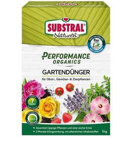Gartendünger  Performance Organics – 1 kg Substral Naturen