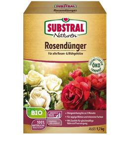 Rosendünger - 1,7 kg Substral Naturen