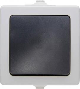Kopp Feuchtraum-Universalschalter Nautic ,  grau, (Aus-/Wechsel)