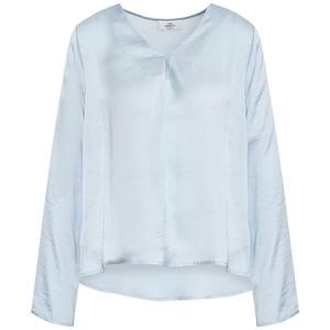 Damen Bluse mit krempelbaren Ärmeln