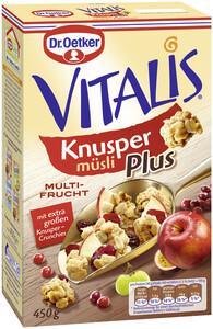 Dr.Oetker Vitalis Knusper Plus Multi-Frucht 450 g