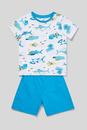 Bild 1 von C&A Shorty-Pyjama-Bio-Baumwolle-2 teilig, Weiß, Größe: 134