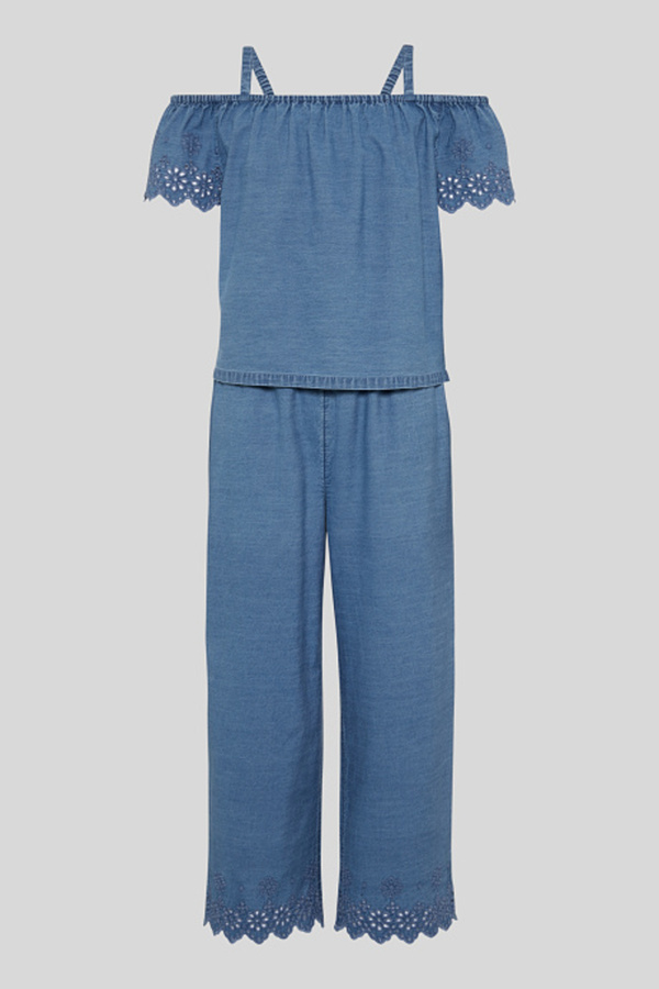 Jumpsuit - 2-in-1-Look