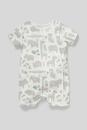 Bild 1 von C&A Baby-Schlafanzug-Bio-Baumwolle, Weiß, Größe: 92