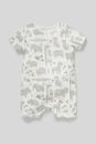 Bild 2 von C&A Baby-Schlafanzug-Bio-Baumwolle, Weiß, Größe: 92