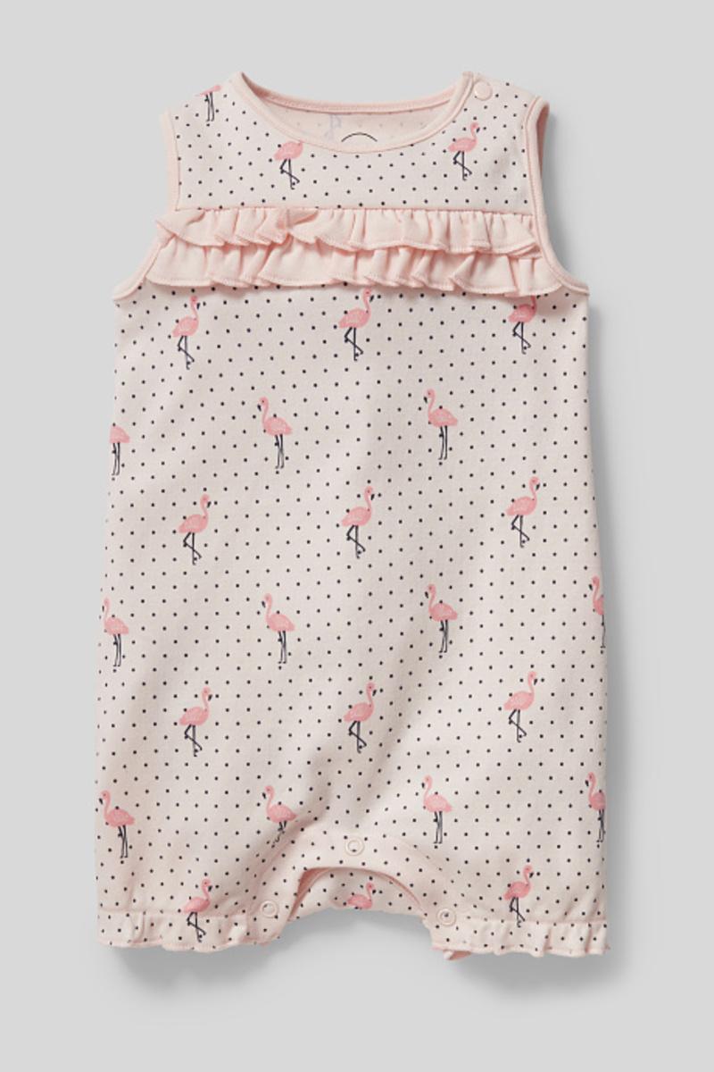 Bild 1 von C&A Baby-Schlafanzug-Bio-Baumwolle, Rosa, Größe: 92