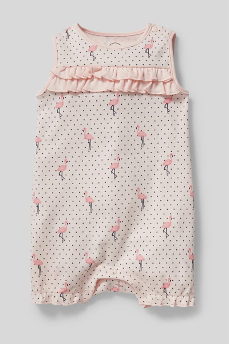 Bild 2 von C&A Baby-Schlafanzug-Bio-Baumwolle, Rosa, Größe: 92