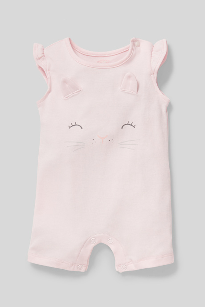 Bild 1 von C&A Baby-Schlafanzug-Bio-Baumwolle, Rosa, Größe: 68