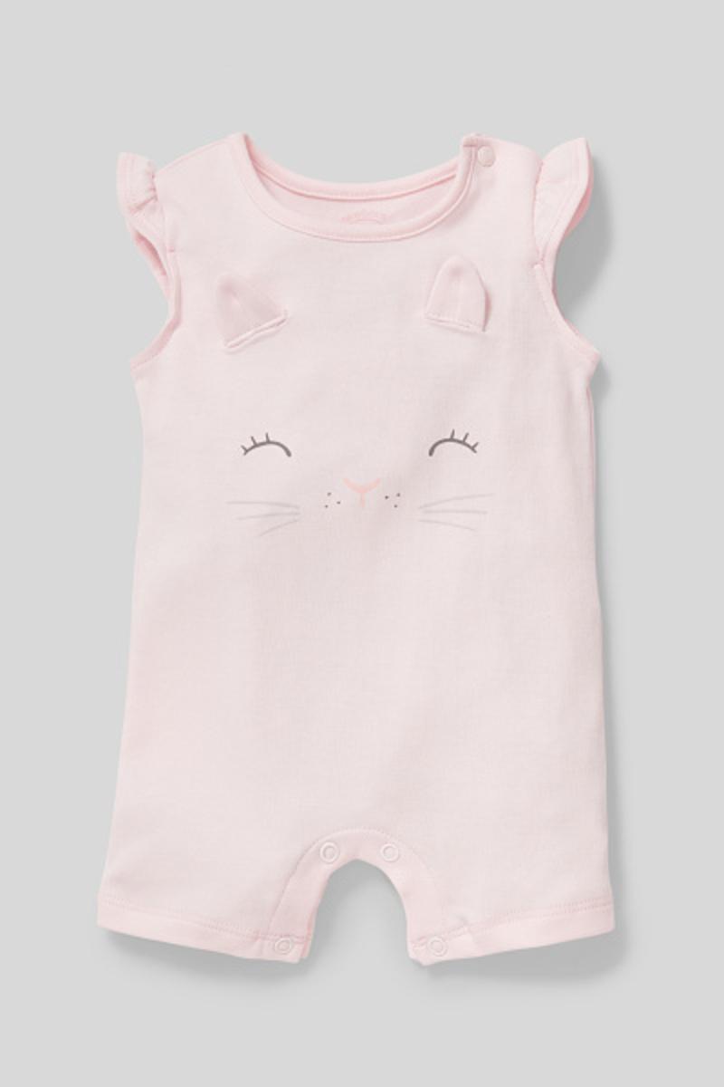 Bild 2 von C&A Baby-Schlafanzug-Bio-Baumwolle, Rosa, Größe: 68