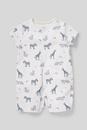 Bild 1 von C&A Baby-Schlafanzug-Bio-Baumwolle, Grau, Größe: 92